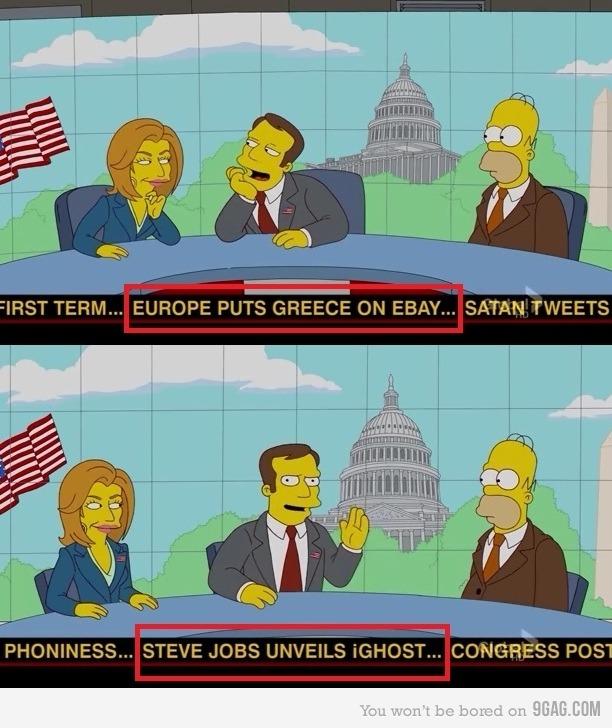 Hidden things in Simpsons